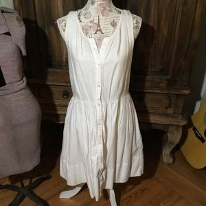 Dresses - Cute Shabby Chic White Dress